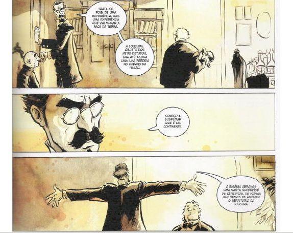 Versão de O Alienista nos quadrinhos