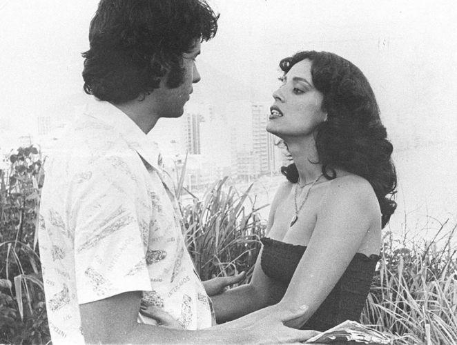 Sonia Braga como a personagem Solange cena da
