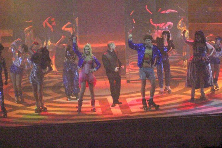 Com Danielle Winits e Thiago Fragoso, Miguel Falabella faz participação especial na peça musical