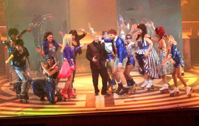 Miguel Falabella faz participação especial na peça musical