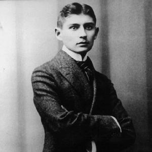 O escritor checo Franz Kafka (1883-1924)