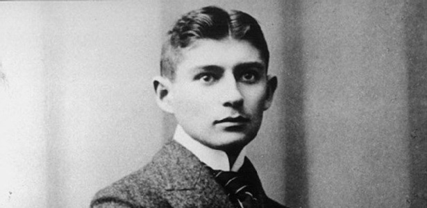 O escritor checo Franz Kafka (1883-1924)