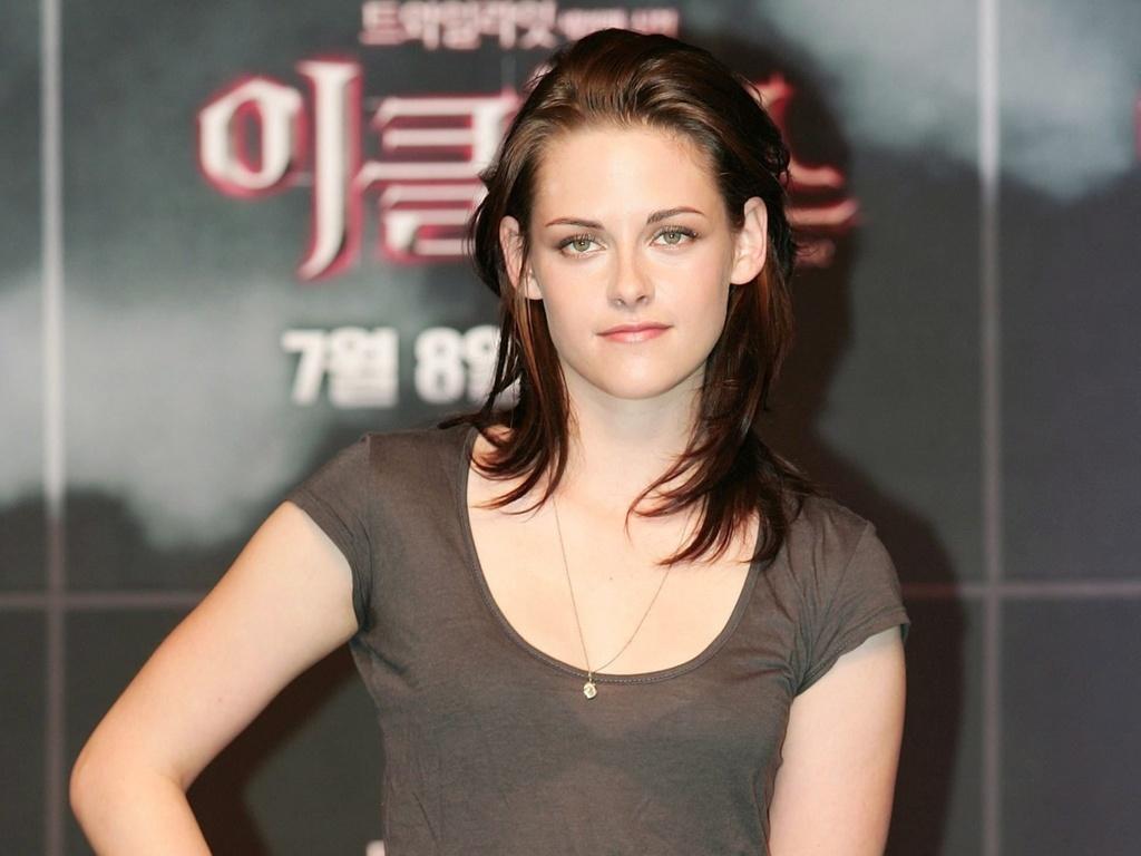 A atriz Kristen Stewart na pré-estreia de