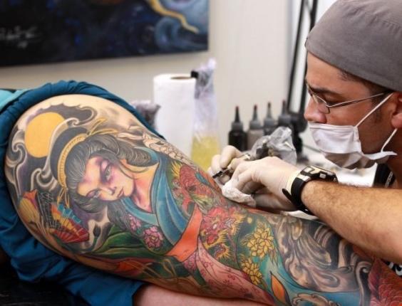 1ª Convenção Internacional de Tatuagem de São Bernardo do Campo (SP) reúne fãs de body art