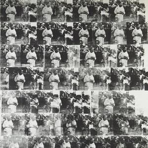 Men in her life de Andy Warhol, obra de 1962 feita a partir de fotografias da atriz Elizabeth Taylor, leiloada por mais de US$ 63 milhões