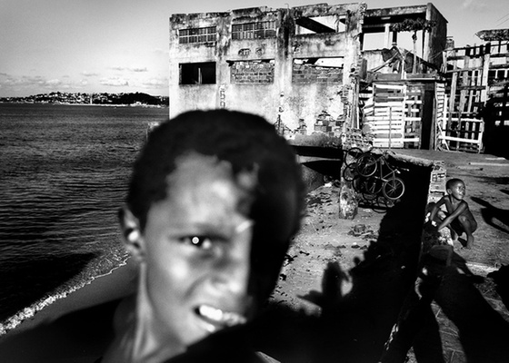 Uma das imagens de Salvador vencedoras do prêmio de fotografia britânico Terry O'Neil