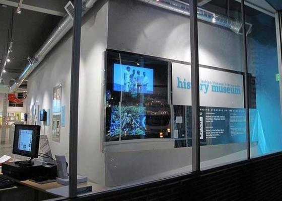 Espaço do GLBT History Museum, em San Francisco, nos EUA
