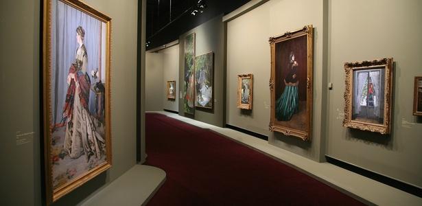 obras de monet. Obras de Monet exibidas no