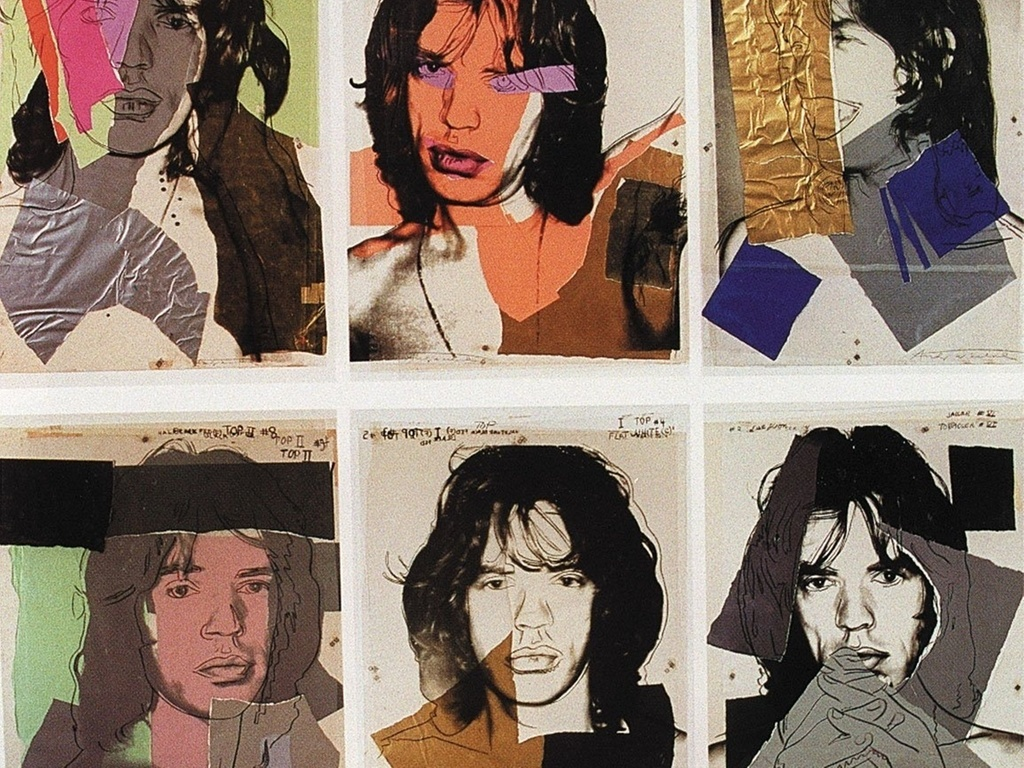 Retrato de Mick Jagger pintado por Andy Warhol  recuperado na Argentina    