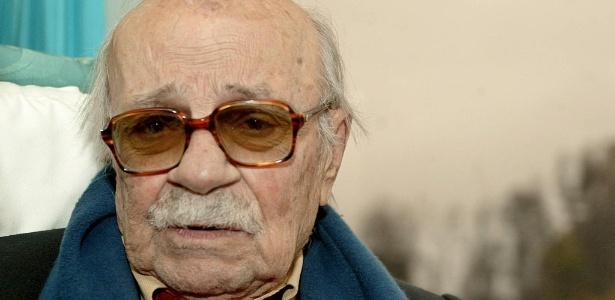 O escritor argentino Ernesto Sábato, em foto de 2004
