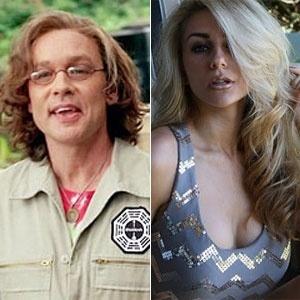 O ator de Lost Doug Hutchison (em foto da série) e sua mulher, Courtney Alexis Stodden, de 16 anos