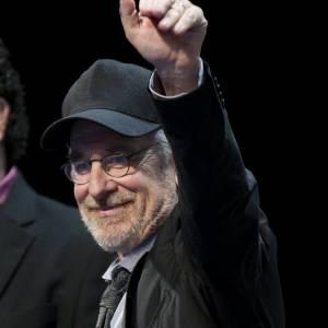 """Steven Spielberg participa da apresentação de """"As Aventuras de Tintim - O Segredo do Licorne"""", na Comic-Con (22/7/11)"""