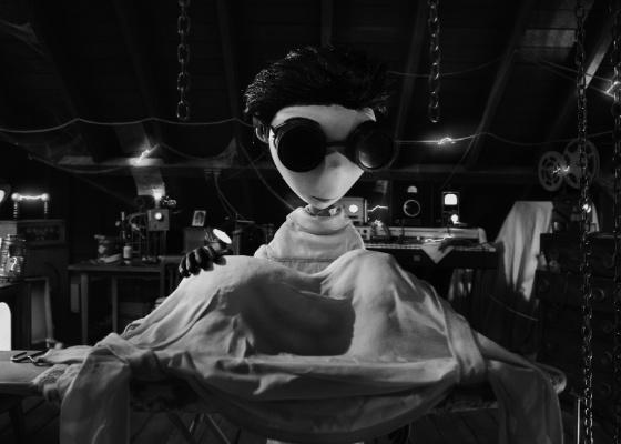 """Primeira imagem de """"Frankenweenie"""", novo longa de Tim Burton"""