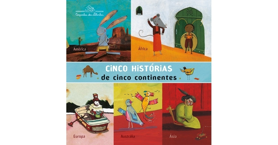 Cinco Histórias de Cinco Continentes