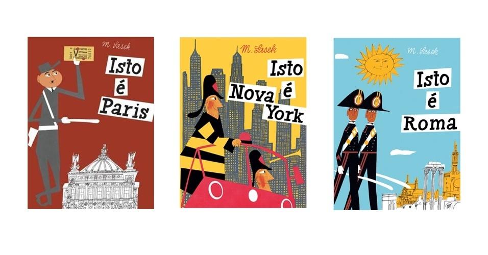 Coleção Isto é - Paris, Nova York e Roma