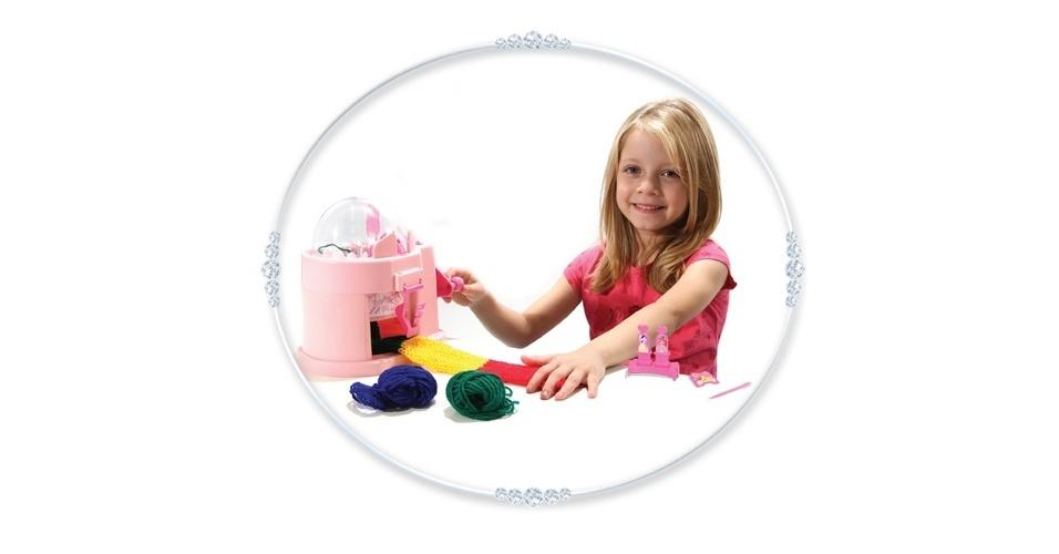 Maquininha de tricô Princesas Disney