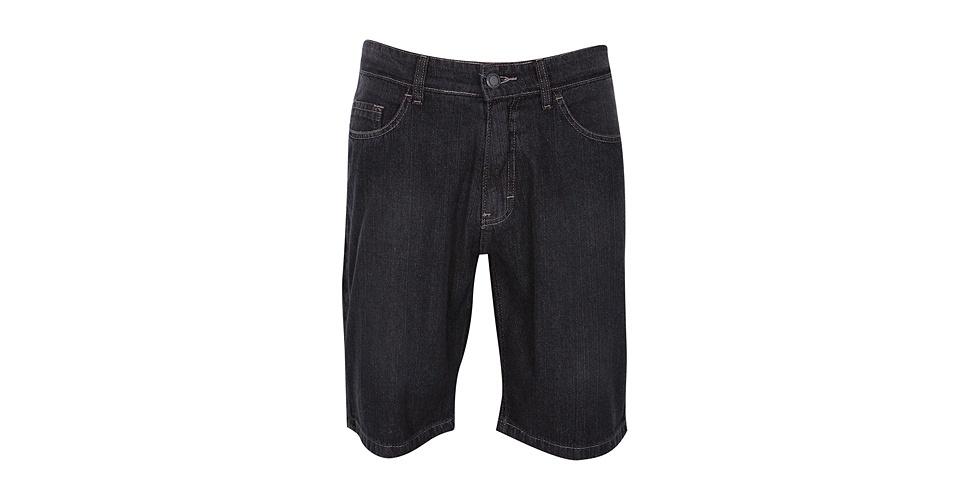 Bermuda jean masculina