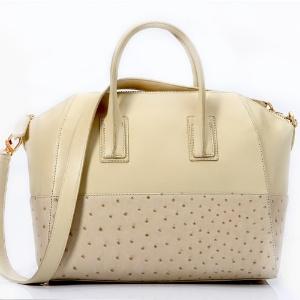 Bolsa com couro de avestruz (parte debaixo) VH são peças óbviamente mais  caras 34f9988e4a2