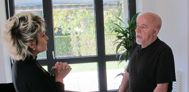 Paulo Coelho em entrevista a Ana Maria Braga no Mais Você (25/11/11)