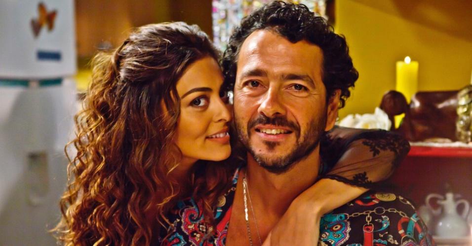 Juliana Paes e Marcos Palmeiras são casados em