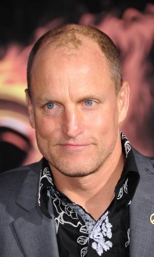 """O ator Woody Harrelson, que interpreta Haymitch Abernathy em """"Jogos Vorazes"""", na pré-estreia do filme em Los Angeles (12/3/12)"""