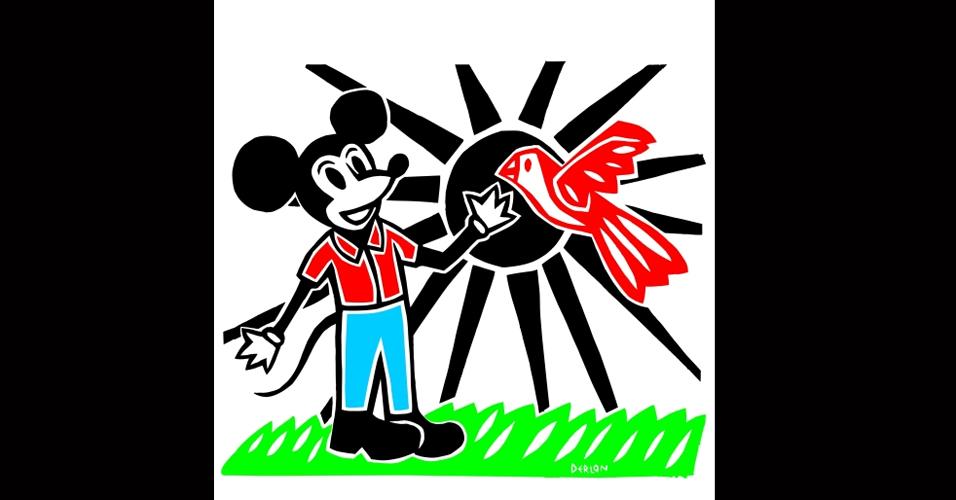 """""""Mickey Mouse em Traços Nordestinos"""" - CE"""
