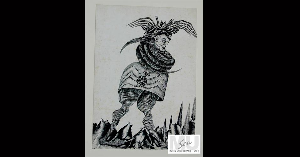 """""""Franklin Cascaes: Desenhos e Esculturas"""" - SC"""
