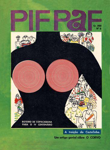 """Capa da revista """"PIF PAF"""""""