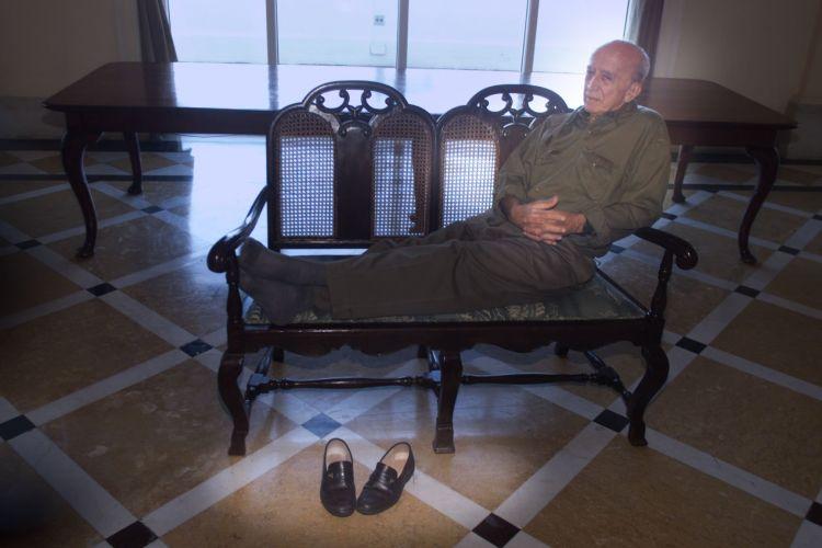 Millôr Fernandes no hotel Copacabana Palace