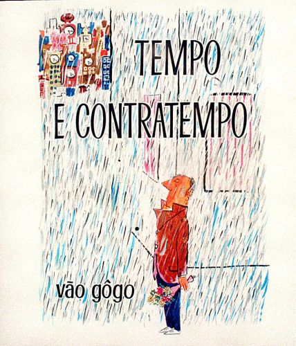 """Capa do livro """"Tempo e Contratempo"""""""