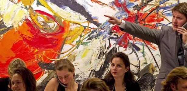 Milionários veem coleções de artes como alternativas ao investimento financeiro