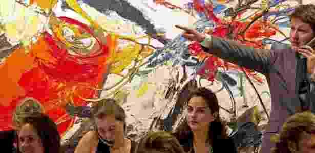 Milionários veem coleções de artes como alternativas ao investimento financeiro - Toussaint Kluiters/AFP