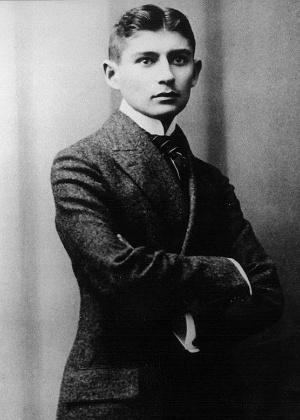 O escritor checo Franz Kafka (1883-1924) - Reprodução