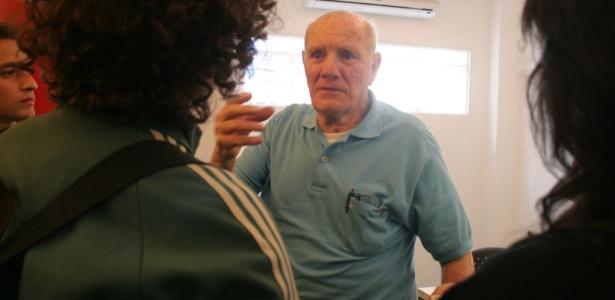 Roger Avanzi, o palhaço Picolino, na sede da ONG Doutores da Alegria, em São Paulo (SP) - Lucas Fonseca/Divulgação