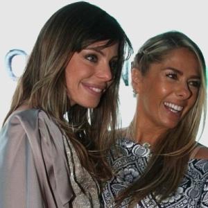 Daniella Cicarelli e Adriane Galisteu em entrevista para imprensa na Band em São Paulo (28/4/10)