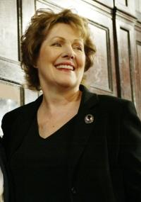 A atriz Lynn Redgrave em premiação em Nova York no ano de 2005