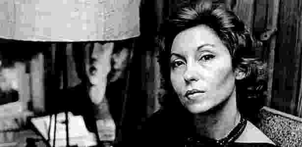 A escritora Clarice Lispector em meados dos anos 60 - Fundação Casa de Rui Barbosa