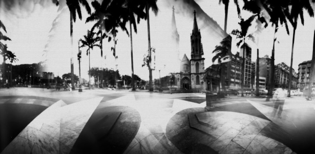 """Mostra """"Cidade Múltipla"""" exibe fotos captadas por cinco câmeras artesanais - Ricardo Hantzschel/Divulgação"""