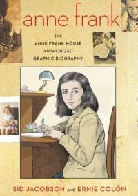 Capa da biografia em quadrinhos de Anne Frank, que ganhará versão em diversos idiomas