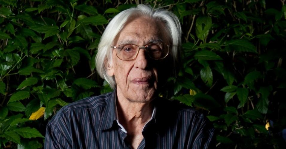 O poeta brasileiro Ferreira Gullar (30/05/2010)