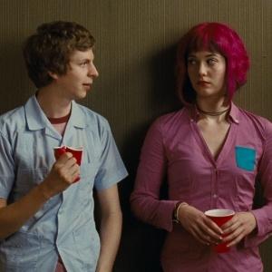 """Michael Cera e Mary Elizabeth Winstead em cena de """"Scott Pilgrim Contra o Mundo"""""""