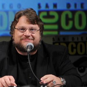 O diretor Guillermo Del Toro na Comic-Con (23/07/2010)