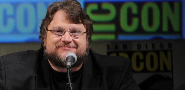 O diretor mexicano Guillermo Del Toro na Comic-Con (23/07/2010) - Getty Images
