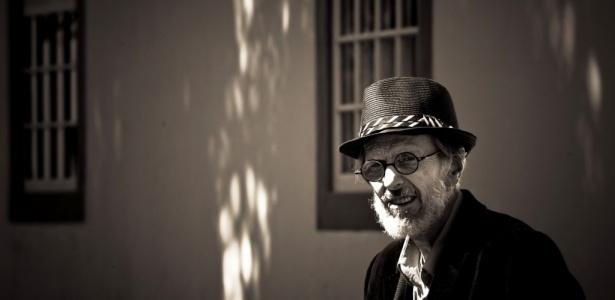 O quadrinista norte-americano Robert Crumb na Flip (06/08/2010) - Leandro Moraes / UOL