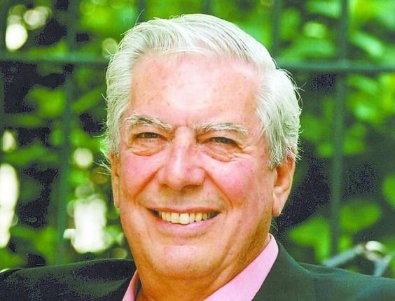 O escritor peruano Mario Vargas Llosa, que venceu o Prêmio Nobel de Literatura 2010 - Reprodução
