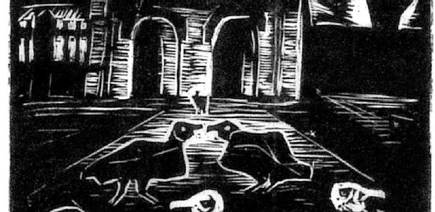 Gravura de Oswaldo Goeldi - Divulgação
