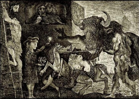"""Gravura """"La Minotauromachie"""", de Pablo Picasso: US$ 2 milhões e novo recorde - Divulgação"""