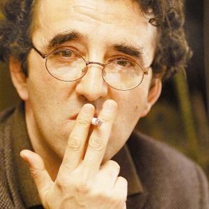 """O escritor chileno Roberto Bolaño (1953-2003) - Claudio Bueno/""""El Mercurio"""""""
