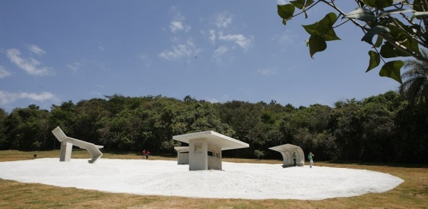 Instalação da francesa Dominique Gonzalez-Foerster no Instituto Inhotim (MG) - Washington Alves / UOL
