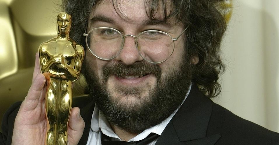 Peter Jackson, diretor da trilogia